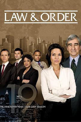 法律与秩序 第十九季的海报